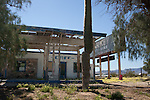 Abandoned cafe / gas station along Route 66
