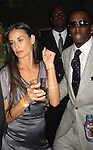 Demi Moore &amp; Sean P. Diddy Combs<br />