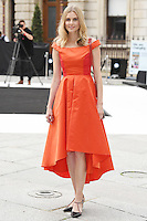 Donna Air (L) arrives for the VIP preview of the Royal Academy of Arts Summer Exhibition 2016