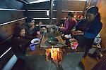 Arcadia Ventura cooks breakfast for her family in San Jose la Frontera, a small Mam-speaking Maya village in Comitancillo, Guatemala.