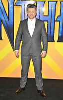 Andy Serkis at the &quot;Black Panther&quot; European film premiere, Hammersmith Apollo (Eventim Apollo), Queen Caroline Street, London, England, UK, on Thursday 08 February 2018.<br /> CAP/CAN<br /> &copy;CAN/Capital Pictures