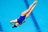 Picture by Rogan Thomson/SWpix.com - 14/07/2017 - Diving - Fina World Championships 2017 -  Duna Arena, Budapest, Hungary - Katherine Torrance of Great Britain in action during the Womens 1m Springboard Preliminary.