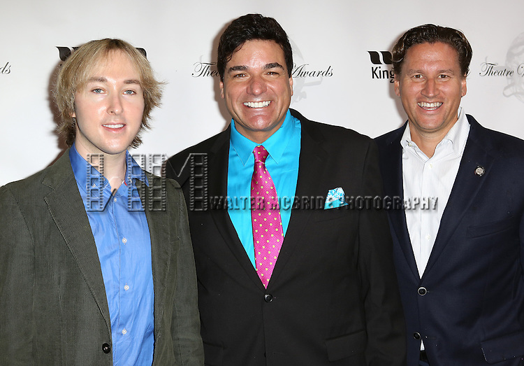"""""""Pippin' Producers Michael Alden, Dale Badway, Ken Mahoney attending the 69th Annual Theatre World Awards at the Music Box Theatre in New York City on June 03, 2013."""