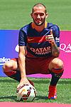2015-06-08-Aleix Vidal presentation an new FC Barcelona player.