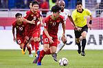 Nguyen Cong Phuong of Vietnam in action during the AFC Asian Cup UAE 2019 Round of 16 match between Jordan (JOR) and Vietnam (VIE) at Al Maktoum Stadium on 20 January 2019 in Dubai, United Arab Emirates. Photo by Marcio Rodrigo Machado / Power Sport Images