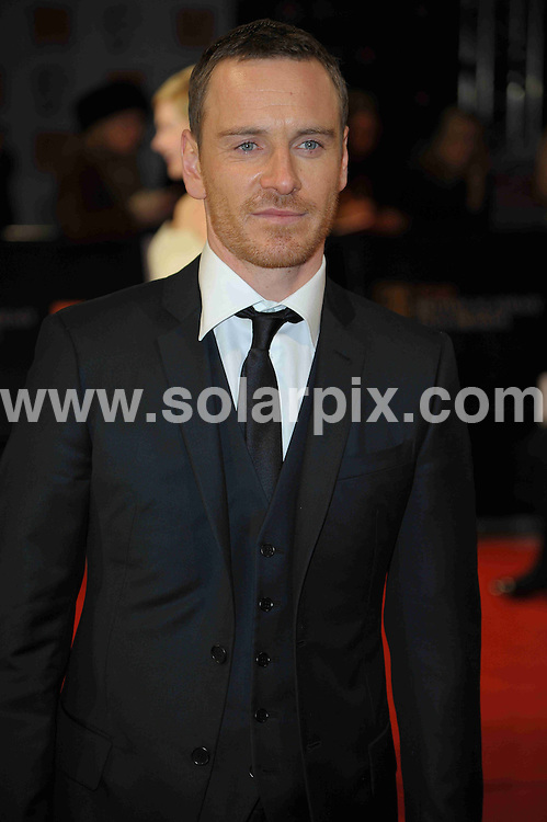 **ALL ROUND PICTURES FROM SOLARPIX.COM**                                             **WORLDWIDE SYNDICATION RIGHTS**                                                                                  Caption: Orange British Academy Film Awards at The .Royal Opera House in Covent Garden London                                                                              This pic: Michael Fassbender                                                                                          JOB REF:14467        MSR       DATE: 12.02.2012                                                           **MUST CREDIT SOLARPIX.COM OR DOUBLE FEE WILL BE CHARGED**                                                                      **MUST AGREE FEE BEFORE ONLINE USAGE**                               **CALL US ON: +34 952 811 768 or LOW RATE FROM UK 0844 617 7637**