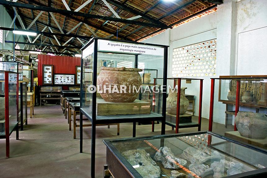 Museu da cerâmica marajoara, ilha de Marajó. Pará. 2002. Foto de João Caldas.