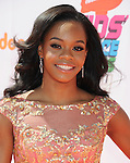 LOS ANGELES, CA- JULY 17: Olympic gymnast Gabby Douglas attends Nickelodeon Kids' Choice Sports Awards 2014 at Pauley Pavilion on July 17, 2014 in Los Angeles, California.