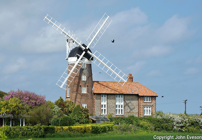 Windmill at Weybourne, Norfolk.