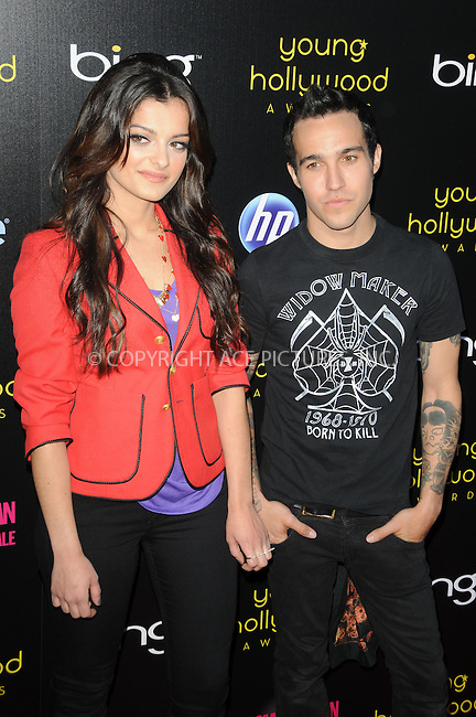 WWW.ACEPIXS.COM . . . . .  ....May 20 2011, LA....Bebe Rex and Peter Wentz arriving at the 2011 Young Hollywood Awards at Club Nokia on May 20, 2011 in Los Angeles, California. ....Please byline: PETER WEST - ACE PICTURES.... *** ***..Ace Pictures, Inc:  ..Philip Vaughan (212) 243-8787 or (646) 679 0430..e-mail: info@acepixs.com..web: http://www.acepixs.com