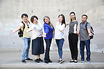 Wen Chen, Yanping Ma, Bonnie Comley, Xuejiao Bai, Zhenzhu Ma and Zhiyong Liu, Central Academy of Drama: Professors visit The Summer Stage and Bandshell on September 25, 2017 at the The Central Park Summer Stage  in New York City.
