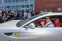 LAS VEGAS, NV - April 29: Marc-Andre Fleury Las Vegas Golden Knights Send Off at City National Arena  in Summerlin, Nevada on April 29, 2018. Credit: Damairs Carter/MediaPunch