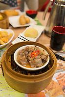 Steamed spareribs with black bean sauce in Tim Ho Wan, Hong Kong