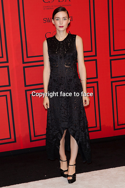 NEW YORK, NY - JUNE 3: Rooney Mara at the 2013 CFDA Fashion Awards at Lincoln Center's Alice Tully Hall in New York City. June 3, 2013. <br />