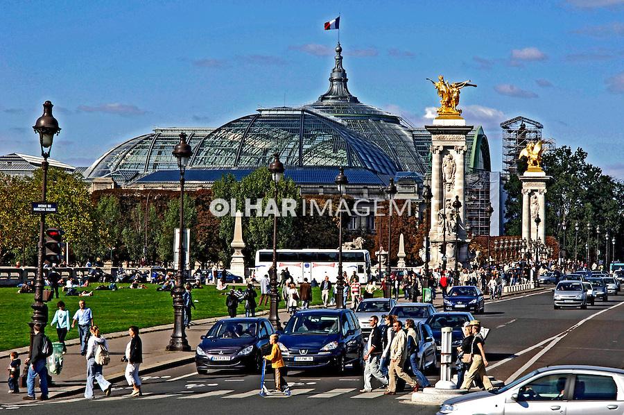 Palácio Grand Palais, Paris. França. 2005. Foto de Rogério Reis.