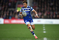 4th January 2020; Kingsholm Stadium, Gloucester, Gloucestershire, England; English Premiership Rugby, Gloucester versus Bath; Anthony Watson of Bath brings the ball forward - Editorial Use
