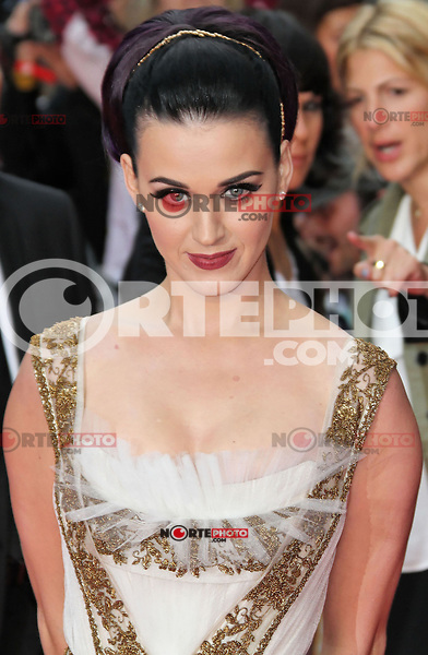 LONDON - JULY 03: Katy Perry attended the European Film Premiere of 'Katy Perry: Part Of Me' at the Empire Cinema, Leicester Square, London, UK. July 03, 2012. (Photo by Richard Goldschmidt)