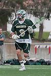 Palos Verdes, CA 04/20/10 - Marcus Egeck (Mira Costa #9) in action during the Mira Costa-Palos Verdes boys lacrosse game.