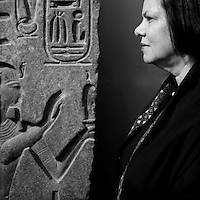 Wafaa El Saddik - Portraits of the ex-director of the Egyptian Museum in Cairo