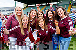 Causeway supporters pictured after the county hurling final l-r: Katie Costello, Frieda Leahy, Orla Casey, Louise Leahy, Annmarie Leahy, Grace Dillane and Vanessa Dineen.