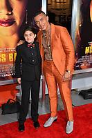 "LOS ANGELES, CA. January 30, 2019: Ismael Cruz Cordova & Sebastian Cano at the world premiere of ""Miss Bala"" at the Regal LA Live.<br /> Picture: Paul Smith/Featureflash"