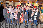 Paula Breen, Deerpark Cresent, Killarney, pictured with family and friends as she celebrated her 18th birthday in Kellys Korner, Killarney on Friday night.