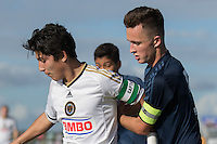 2015 U.S. Soccer Development Academy Winter Showcase: LA Galaxy vs. Philadelphia Union U-15/16s.<br /> Hosted by U.S. Soccer at Premier Sports Complex in Lakewood Ranch, Fla.
