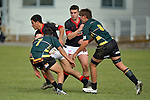NELSON, NEW ZEALAND - JULY 18: Rugby UC Championship, Waimea Combined v St Bede's College, Waimea College, Nelson, 18th July, New Zealand. (Photos by Barry Whitnall/Shuttersport Limited)