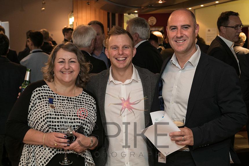Deborah Labbate of Deborah Labatte Business Solutions with Mark Platt and Ed Wright both of Shakespeare Martineau