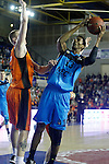 Montakit Fuenlabrada's Rolands Smits (l) and Alba Berlin's Malcolm Miller during Eurocup, Regular Season, Round 6 match. November 16, 2016. (ALTERPHOTOS/Acero)