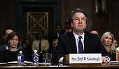 WASHINGTON, DC - SEPTEMBER 27:  Judge Brett Kavanaugh testifies to the Senate Judiciary Committee during his Supreme Court confirmation hearing in the Dirksen Senate Office Building on Capitol Hill September 27, 2018 in Washington, DC. Kavanaugh was called back to testify about claims by Christine Blasey Ford, who has accused him of sexually assaulting her during a party in 1982 when they were high school students in suburban Maryland.  (Photo by Win McNamee/Getty Images)