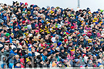 Spectators watch on  during the Kerry County Senior Club Football Championship Final match between East Kerry and Dr. Crokes at Austin Stack Park in Tralee, Kerry.