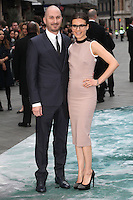 Darren Aronofsky and Brandi-Ann Milbradt arriving for the UK Premiere or Noah, at Odeon Leicester Square, London. 31/03/2014 Picture by: Alexandra Glen / Featureflash