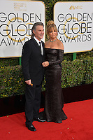Goldie Hawn &amp; Kurt Russell at the 74th Golden Globe Awards  at The Beverly Hilton Hotel, Los Angeles USA 8th January  2017<br /> Picture: Paul Smith/Featureflash/SilverHub 0208 004 5359 sales@silverhubmedia.com
