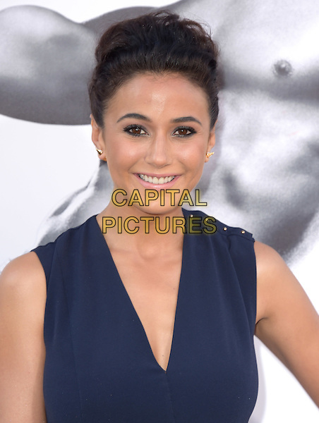 Emmanuelle Chriqui attends The Warner Bros. Pictures' L.A. Premiere of Magic Mike XXL held at The TCL Chinese Theatre  in Hollywood, California on June 25,2015  <br /> CAP/DVS<br /> &copy;DVS/Capital Pictures