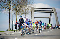 peloton led by Christian Knees (DEU/SKY)<br /> <br /> 99th Ronde van Vlaanderen 2015