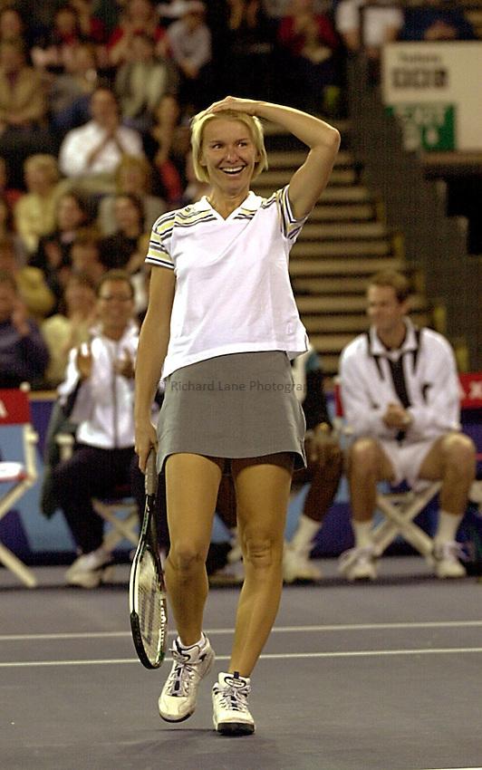 Photo:Ken Brown.20.2.2000 York Tennis Challenge.Jana Novotna