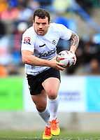 TORONTO, ON - MAY 06:  Sean Penkywicz #24 of Toronto Wolfpack runs with the ball during the first half of a Kingstone Press League 1 match against Oxford RLFC at Lamport Stadium on May 6, 2017 in Toronto, Canada.  (Photo by Vaughn Ridley/SWpix.com)