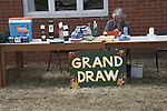 Grand Draw raffle, Butley Flower Show village fete, Butley, Suffolk, England