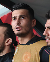 7th September 2019;  Goalkeeper Ugurcan Cakir of Turkey during the European Championship, EM, Europameisterschaft qualification Group H 5th Matchday between Turkey and Andorra at the Vodafone Park Stadium in Istanbul . Premier League Chelsea have agreed to sign the goalkeeper on a permanent basis