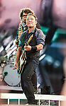 Bruce Springsteen and the E Street band at Fenway Park August 14, 2012.