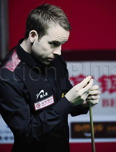Mar 30, 2011; Beijing, CHINA; Ali Carter defeats Stuart Bingham 5:1 in the first round at the Bank of Beijing 2011 World Snooker China Open.