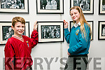 Billy and Jane Doyle with their family portrait at official opening of the the the Faces of Fenit exhibition at the Kerry County Library Tralee on Tuesday