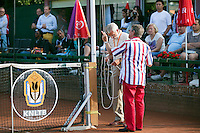 August 4, 2014, Netherlands, Dordrecht, TC Desh 35, Tennis, National Junior Championships, NJK, Opening ceremony, <br /> Photo: Tennisimages/Henk Koster