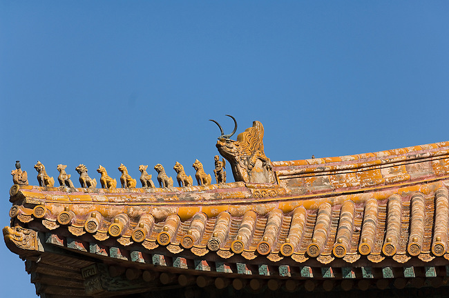 Roof Guardians, Beijing, China.