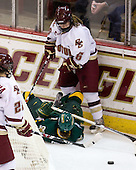 Chelsea Furlani (Vermont - 10), Kristin Regan (BC - 6) - The University of Vermont Catamounts defeated the Boston College Eagles 5-1 on Saturday, November 7, 2009, at Conte Forum in Chestnut Hill, Massachusetts.