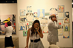 Scene from Art Basel. ....Art Basel invades Miami every year in December. This is it's fifth year in South Florida. Galleries from all around the world come to Miami to show their latest works. Over $100 million worth of art was sold during the week of December 7-10.