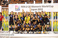 USA Women U-20 vs Germany, World Cup Finals, September 8, 2012