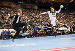 12.01.2019, Mercedes Benz Arena, Berlin, GER, Germany vs. Brazil, im Bild <br /> Patrick Groetzki (GER #24), Leonardo Tercariol (BRA #62)<br /> <br />      <br /> Foto &copy; nordphoto / Engler