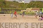 Volley Ball in Ballybunion, an Inter cultural sport event was organise on the beack by Kerry Co Co.